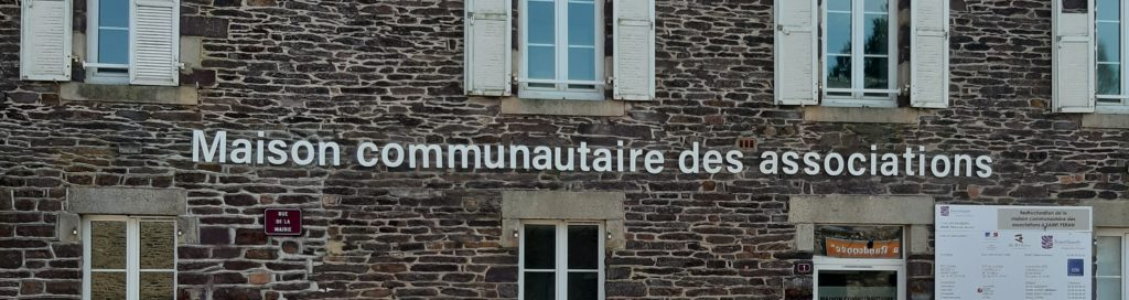 lettrage façade